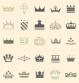 Crowns and tiaras and shields vector | Price: 1 Credit (USD $1)