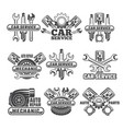 design template labels and badges vector image