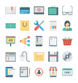 Digital Marketing Icons 2 vector image vector image