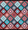 ethnic rhombus tribal seamless pattern vector image vector image