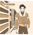 fashion style07 vector image vector image