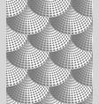 gray curls vector image vector image