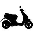Moped vector image