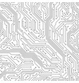 seamless circuit board digital technology vector image