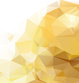 Abstract gold geometrical background vector image vector image