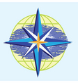 compass star vector image vector image