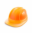 construction helmet on a white background vector image