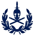 Icon Navy submarine fleet vector image vector image