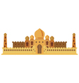 Indian Castle vector image vector image