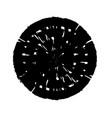 stroke spiral stamp 61 vector image vector image