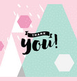 typography for poster invitation greeting card vector image vector image