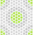 abstract technology green seamless pattern vector image