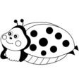 Cartoon Ladybug vector image