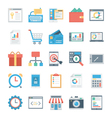Digital Marketing Icons 3 vector image vector image