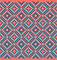 ethnic rhombus seamless pattern vector image vector image