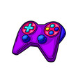 gaming gamepad cyber sports vector image