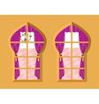 Indian Window vector image