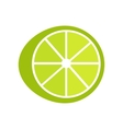 Lime In Flat Style Design vector image vector image