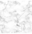 marble granite white texture background vector image