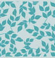 seamless pattern with branches for design vector image vector image