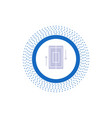 sync synchronization data phone smartphone glyph vector image