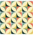 60s and 70s retro seamless pattern