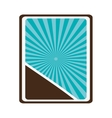 badge sticker or emblem icon vector image