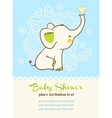 bashower invitation card vector image