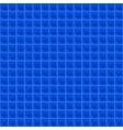 Blue Pattern Tetrahedral Mosaic vector image