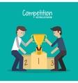 Competition icon design vector image