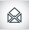 e-mail icon trendy simple concept symbol design vector image vector image