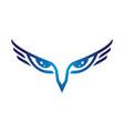 eagle eye symbol vector image