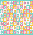easter eggs for easter holidays design vector image vector image