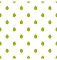 hazel leaf pattern seamless vector image vector image