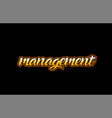 management word text banner postcard logo icon vector image vector image
