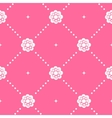 Pink pattern seamless in baroque style vector image vector image