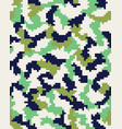 seamless digital camouflage vector image vector image