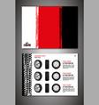 automotive brochure template vector image vector image