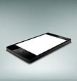Black smartphone Stock vector image vector image