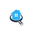 browse house logo icon design vector image vector image