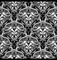 ethnic style floral paisley seamless pattern vector image