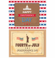 happy independence day posters washington capitol vector image vector image