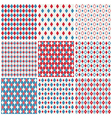 harlequin patterns vector image vector image