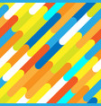seamless pattern of beautiful color lines stripe vector image vector image