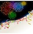 Celebration card vector image