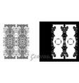 gemini or twins zodiac sign vector image