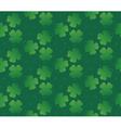Green seamless clover texture vector image vector image