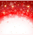red holiday backdrop vector image vector image