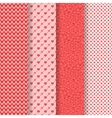 Seamless patterns pack vector image
