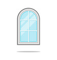 window icon isolated on white sign symbol vector image vector image